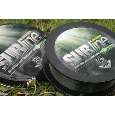 Korda SubLine 1000m 0,35mm GREEN/ VERDE