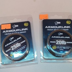 NASH ARMOURLINK HEAVY SUPPLE BRAID 20LB