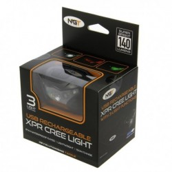 NGT XPR Cree Headlamp USB Rechargable (140 Lumens)
