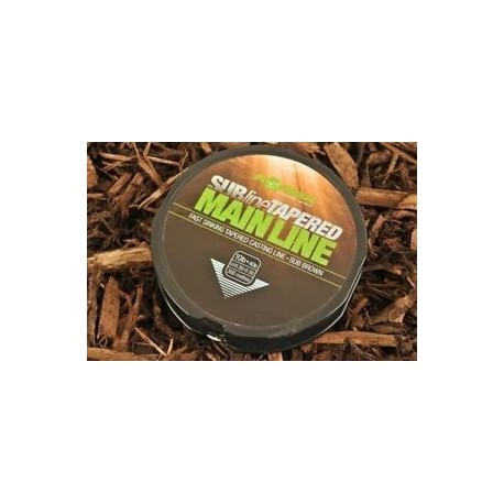 Korda - Subline Tapered Leader Brown 0,30-0,50mm (10-40lb) 300M