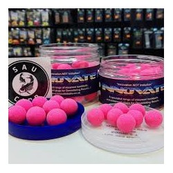 INNOVATE BAITS SQUID 2T FLUORO PINK POP UPS 16MM