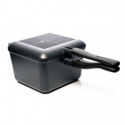 Ridgemonkey CONNECT MULTI-PURPOSE PAN & GRIDDLE SET: GUNMETAL GREY