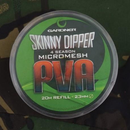 GARDNER malla PVA MICROMESH SKINNY DIPPER 25mm x 7M