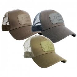 RidgeMonkey APEarel Dropback Pastel Trucker Cap Grey