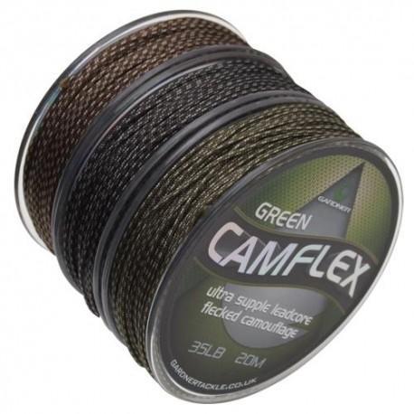 GARDNER LEADCORE CAMFLEX 35LB GREEN 20M