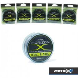 MATRIX HORIZON SINKING MONOFILAMENT 0.22MM 300M