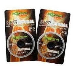 KORDA SUPERNATURAL BROWN 25LB
