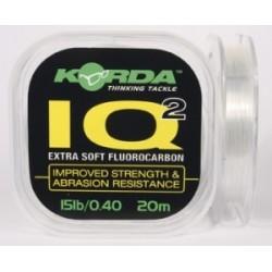 KORDA IQ2 EXTRA SOFT FLUOCARBON 15LB/0,40MM